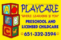 Playcare Outdoor Sign